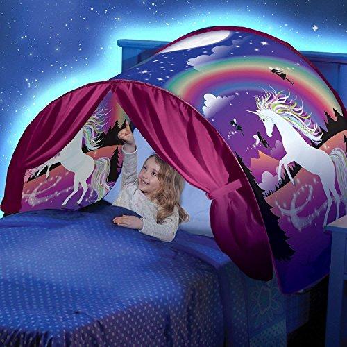 tente de r ve licorne tente de lit pour enfants dream tents. Black Bedroom Furniture Sets. Home Design Ideas